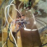 Messy telephone wiring is not good